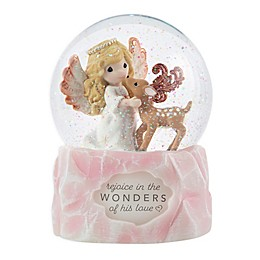 Precious Moments® 9th Annual Angel Musical Snow Globe