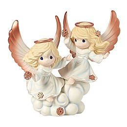 Precious Moments® Peaceful Moments Angels With Snowflakes Limited Edition Figurine