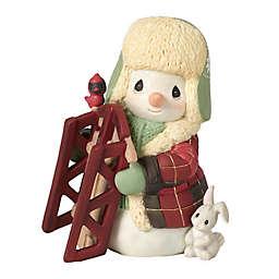 Precious Moments® 10th Annual Snowman Figurine