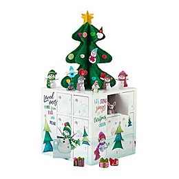 Precious Moments® 33-Piece Snowman Advent Calendar Cube