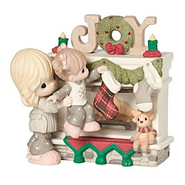 Precious Moments® Mother and Daughter Hanging Stockings Figurine