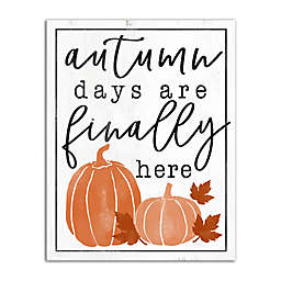 Designs Direct Autumn Days Canvas Wall Art