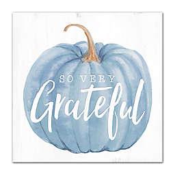 """So Very Grateful"" 16-Inch x 16-Inch Canvas Wall Art"