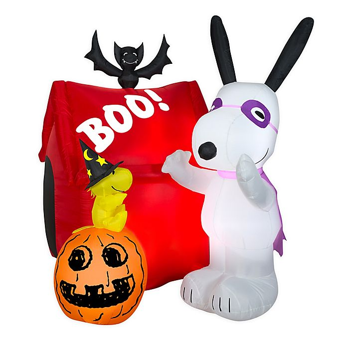 Alternate image 1 for Airblown® Inflatables Snoopy Halloween House