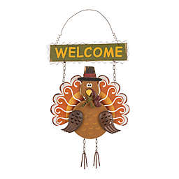Glitzhome Turkey Hanging Sign