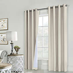 Commonwealth Home Fashions ThermaPlus Ventura 2-Pack Grommet Window Curtain