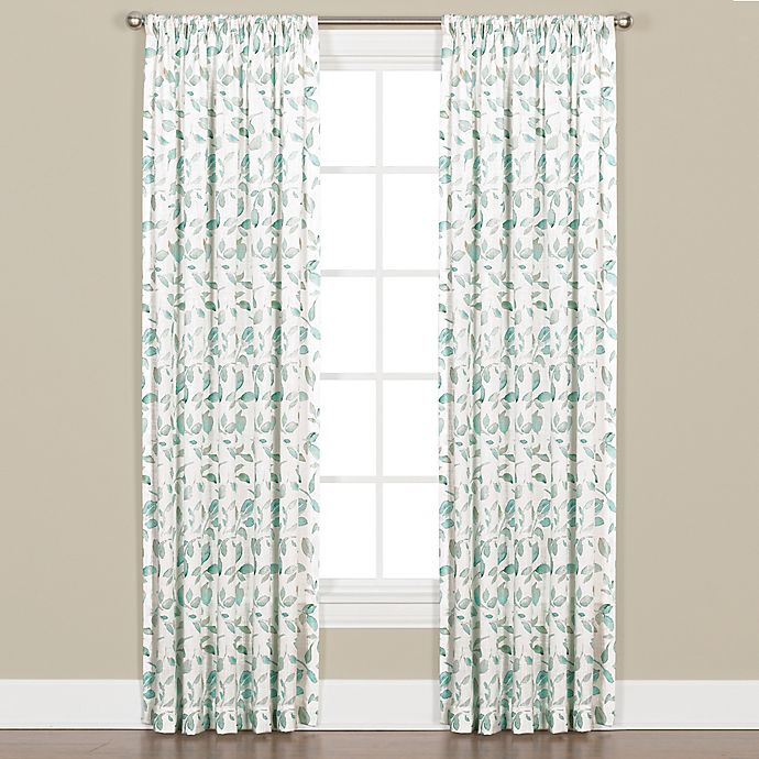 Gentle Wind 95-Inch Rod Pocket Window Curtain Panel In