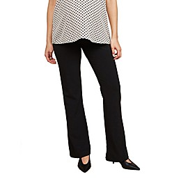 Motherhood Maternity® Secret Fit Belly® Suiting Flared Maternity Pant
