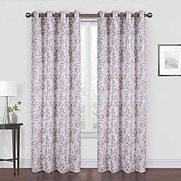 Myles 108-Inch Grommet Room Darkening Window Curtain Panel in Taupe