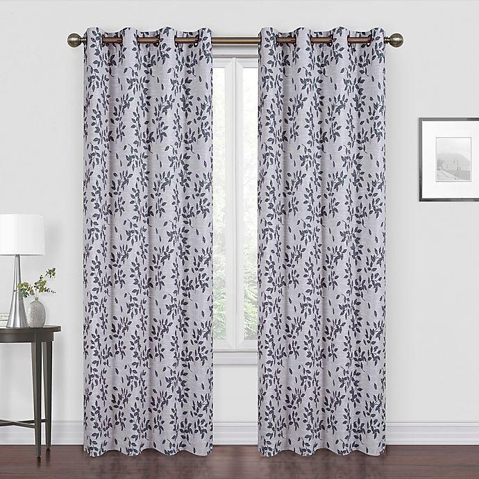 Myles Grommet Room Darkening Window, White Room Darkening Curtains Canada