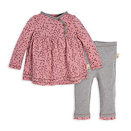 Burt's Bees Baby® 2-Piece Little Seedlings Organic Cotton Tunic and Pant Set