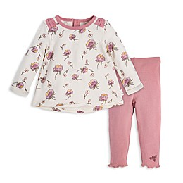 Burt's Bees Baby® 2-Piece Freshly Picked Tunic and Legging Set in Cream