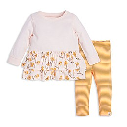 Burt's Bees Baby® 2-Piece Windy Floral Organic Cotton Tunic and Legging Set