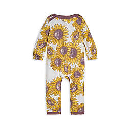 Burt's Bees Baby® Sunflowers Organic Cotton Coverall in Cream