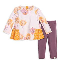 Burt's Bees Baby® Watercolor Fall Foliage Oragnic Cotton Tunic and Legging Set