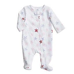 aden + anais® Stripple Star Footie in Pink