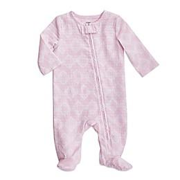 aden + anais® Ziggy Long Sleeve Footie in Pink