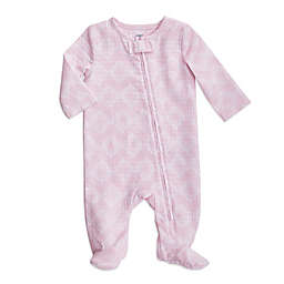 aden + anais® Ziggy Long Sleeve Footie in Pink