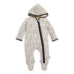 Burt's Bees Baby® Icy Snowscape Hooded Coverall in Ivory