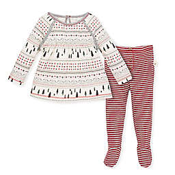 Burt's Bees Baby® 2-Piece Fair Isle Organic Cotton Tunic and Pant Set