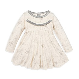 Burt's Bees Baby® Blizzard Bliss Bubble Holiday Dress