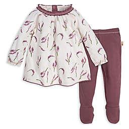 Burt's Bees Baby® Preemie 2-Piece Lavender Organic Cotton Tunic and Pant Set