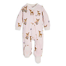 Burt's Bees Baby® Sweet Doe Organic Cotton Footie in Ivory