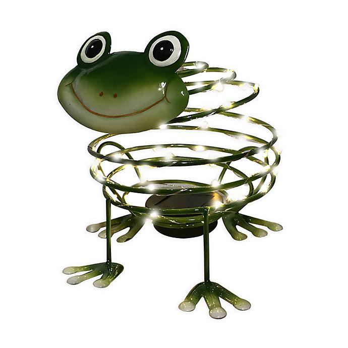 Alternate image 1 for Frog Solar Light