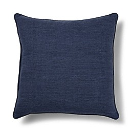 Medford Solid 19-Inch Square Outdoor Throw Pillow