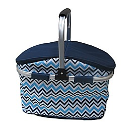 Insulated Cooler Bag with Handle in Blue