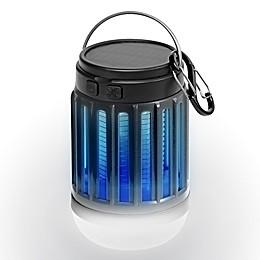 PIC® Solar LED Lantern & Portable Bug Zapper in Black