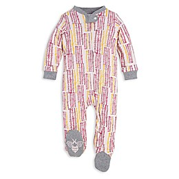 Burt's Bees Baby® Organic Cotton Corn Maze Sleep and Play Footie in Pink