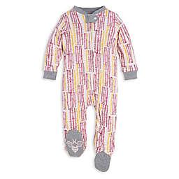 Burt's Bees Baby® Organic Cotton Corn Maze Sleep and Play Footie in Pink