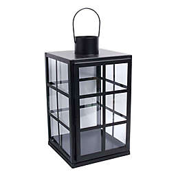 Bee & Willow™ Indoor Decorative Lantern Candle Holder in Black