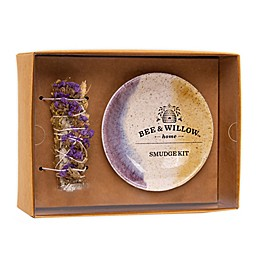 Bee & Willow™ Home Smudge Stick Gift Set in White/Purple