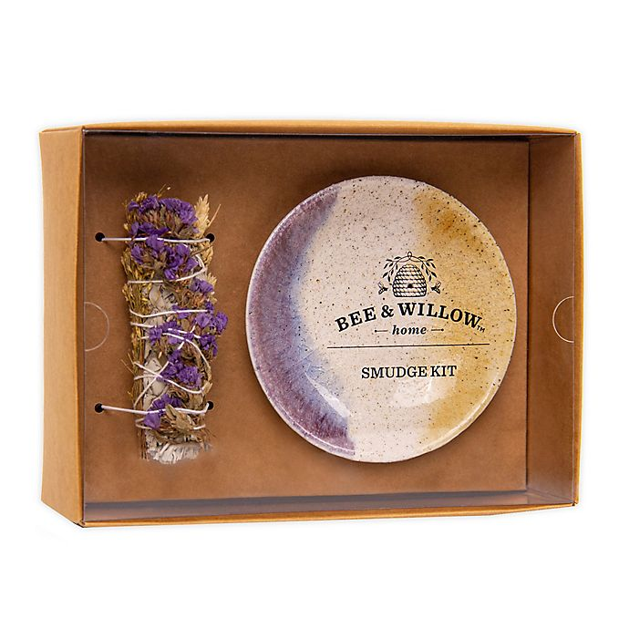 Alternate image 1 for Bee & Willow™ Home Smudge Stick Gift Set in White/Purple