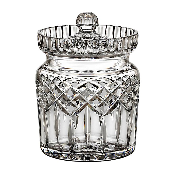 Alternate image 1 for Waterford® Crystal Lismore Biscuit Barrel