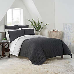 UGG® Terra Reversible Twin Quilt in Charcoal