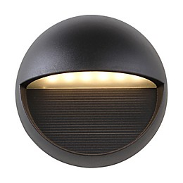 JONATHAN Y Orbe Outdoor Sconce Light in Black