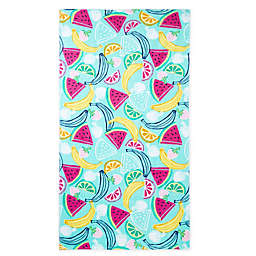 Destination Summer Watermelon Slice Beach Towel