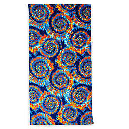 Destination Summer Round Tie Dye Beach Towel
