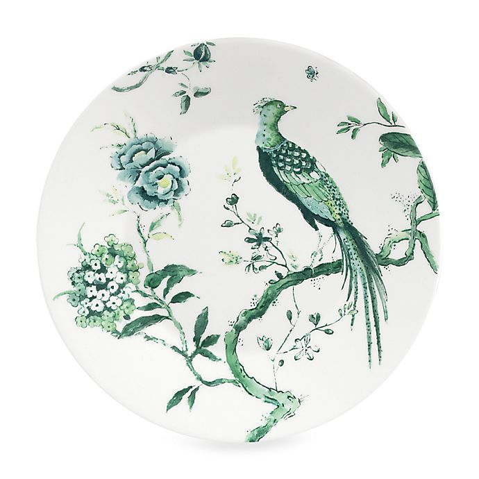 Alternate image 1 for Wedgwood® Jasper Conran Chinoiserie Salad Plate in White