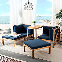 Safavieh Ronson 5-Piece Outdoor Sectional
