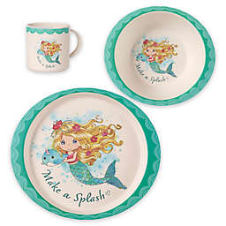 Precious Moments® 3-Piece Toddler Mermaid Dinnerware Set