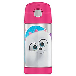 Thermos® FUNtainer® Secret Life of Pets 2 Bottle with Straw in Pink