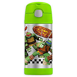 Thermos® FUNtainer® Teenage Mutant Ninja Turtles 12 oz. Bottle with Straw in Green