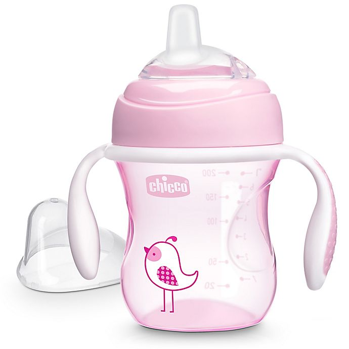Alternate image 1 for Chicco® 7 oz. Silicone Spout Transition Sippy Cup