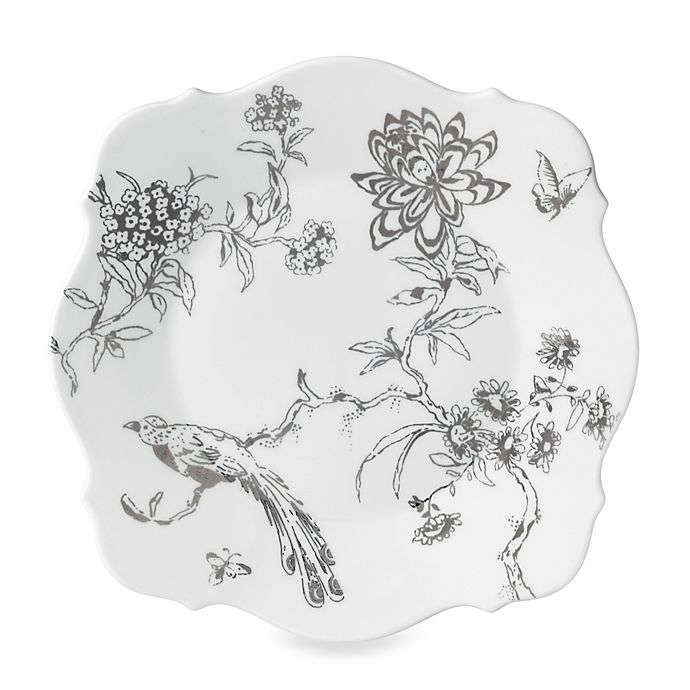 Alternate image 1 for Wedgwood® Jasper Conran Chinoiserie Accent Plate in Platinum