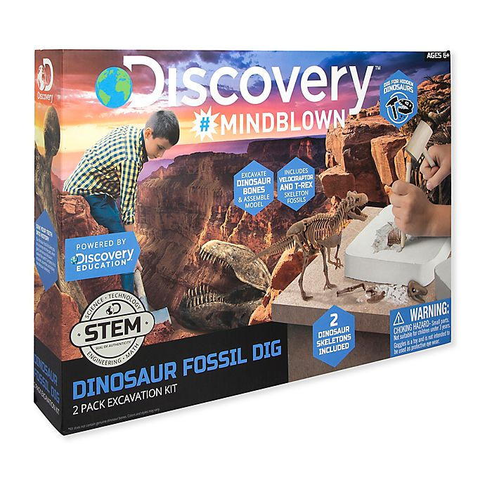 Alternate image 1 for Discovery™ 3D Dino Skeleton Kit