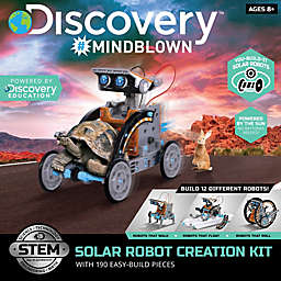 Discovery™ 190-Piece Solar Vehicle Toy Construction Set